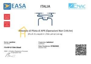 Enac -Pilota Drone APR