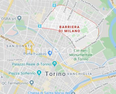 Mappa Barriera di milano