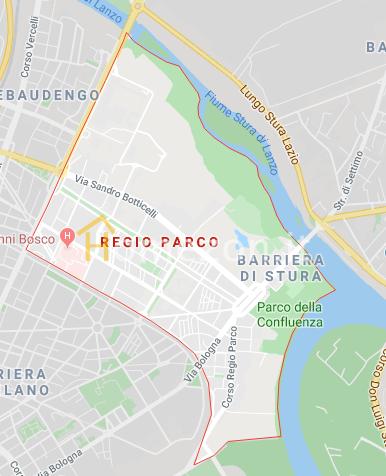 Mappa Regio Parco