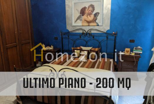 Nichelino - Ultimo piano di 200 mq