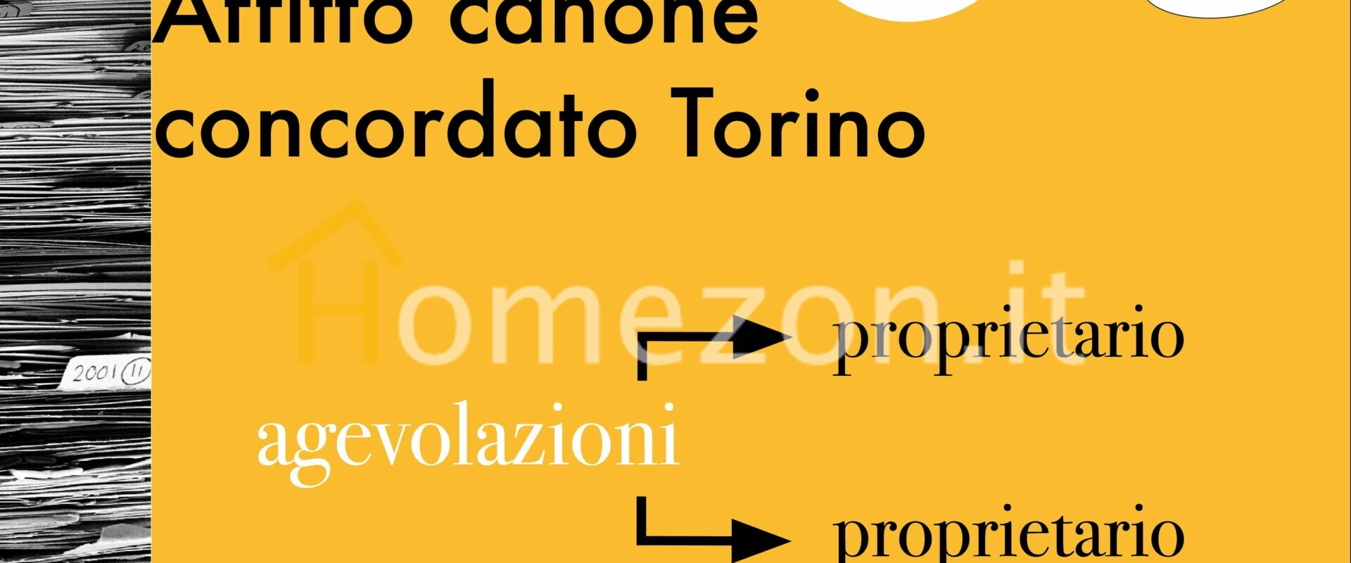 affitto canone concordato Torino
