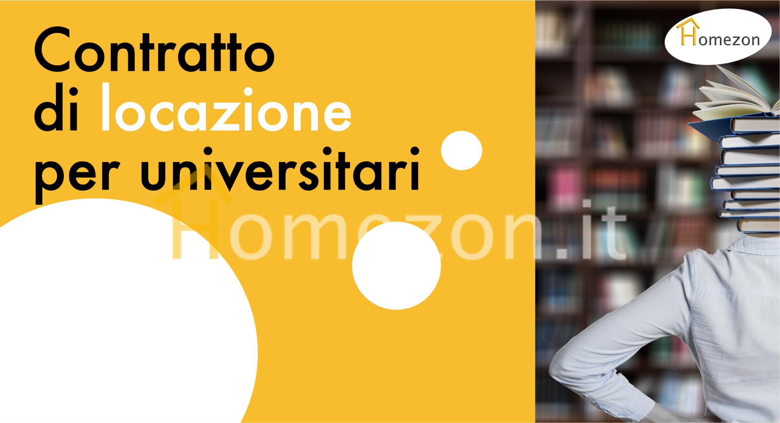 Grafica con il titolo dell'articolo e una foto di una universitaria con la testa nei libri